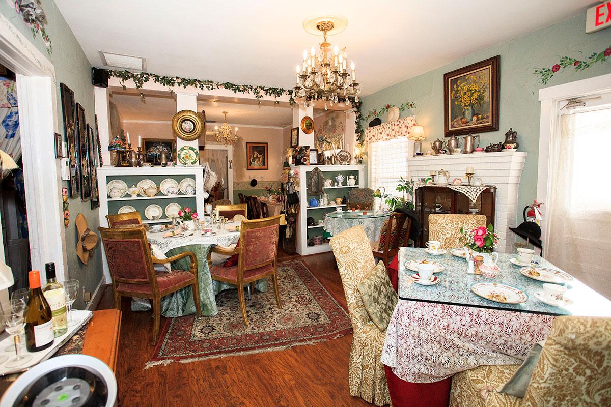 Audrey Farrelli's Serenity Garden Tea House & Café