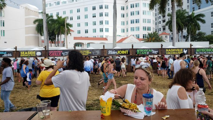 Best Food Experiences at SunFest 2019