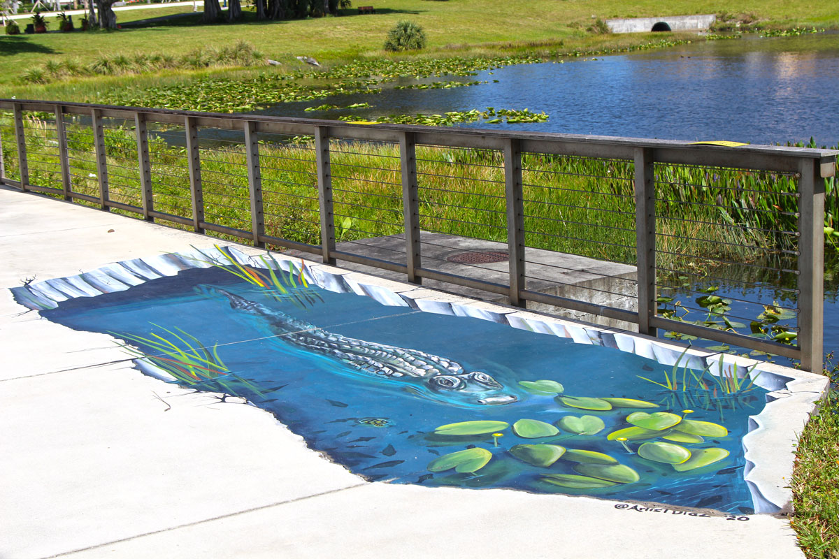 Anamorphic Murals Elevate the Street Art of Hector Diaz