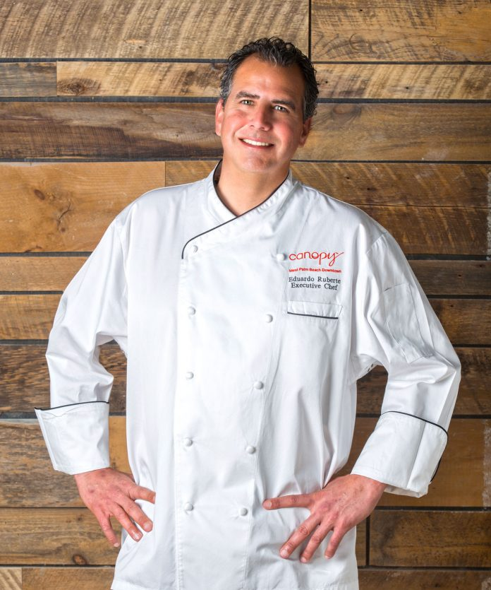 Eduardo Ruberte, Canopy West Palm Beach Executive Chef