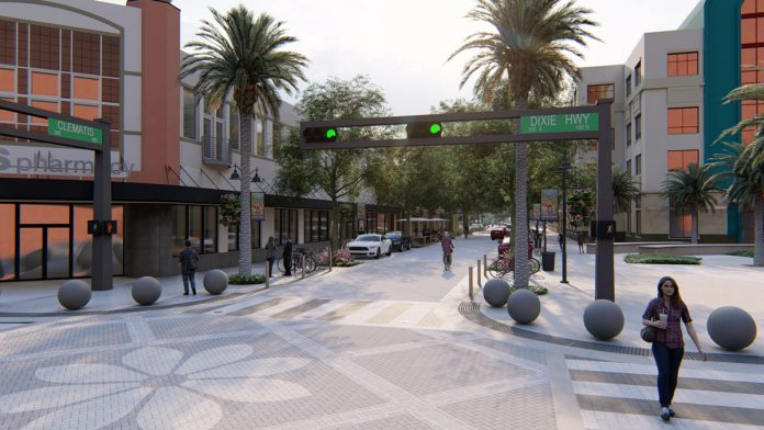 Third and Final Phase of Clematis Streetscape