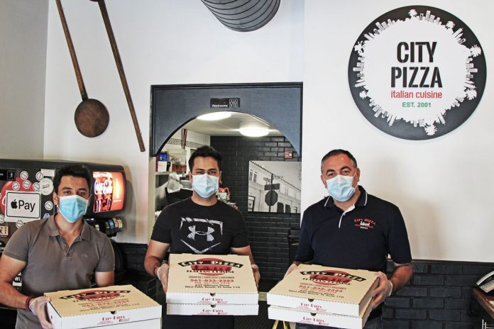 City Pizza Offering Daily Special Offer for Medical Workers