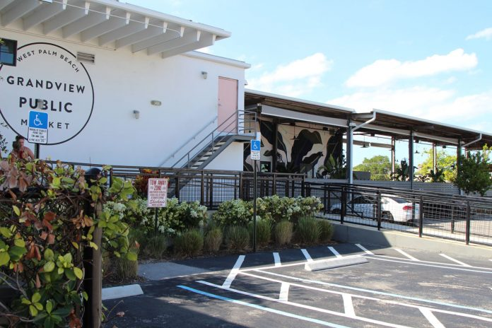 Grandview Public Market, Dropoff Location for Volunteers of the Palm Beaches