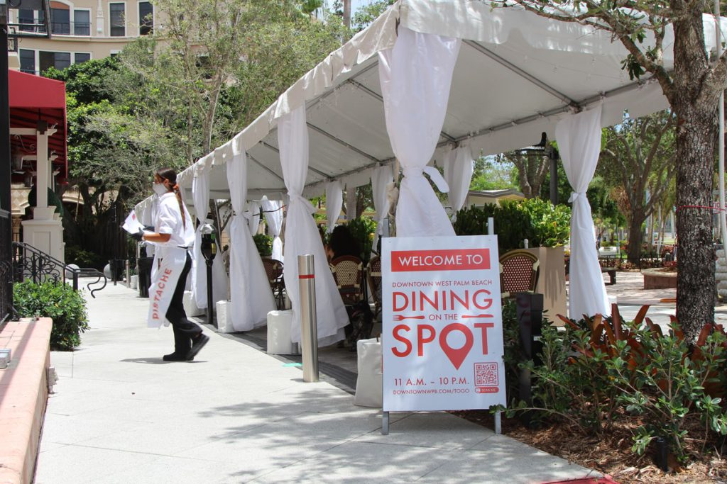 Dining On The Spot An Outdoor