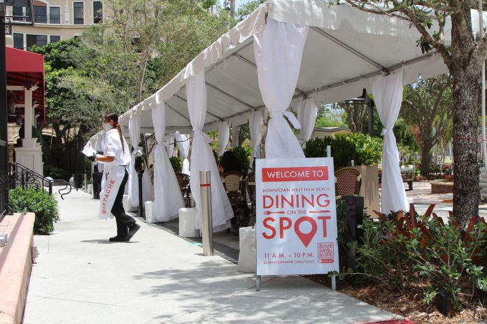 Dining on the Spot Downtown West Palm Beach
