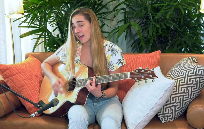 Singer songwriter Allegra Miles: From local stages to national TV