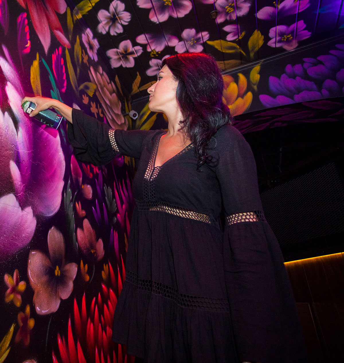Street artist Amanda Valdes paints her way from local to global