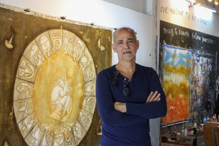 Artist Maximo Caminero