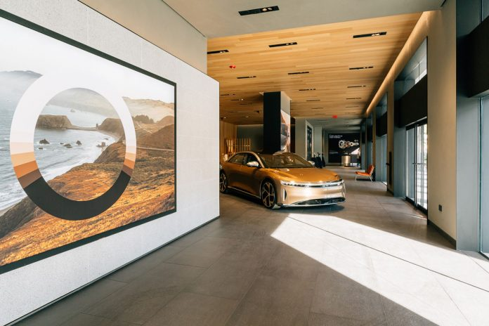 Lucid Motors brings a digitally-oriented luxury experience