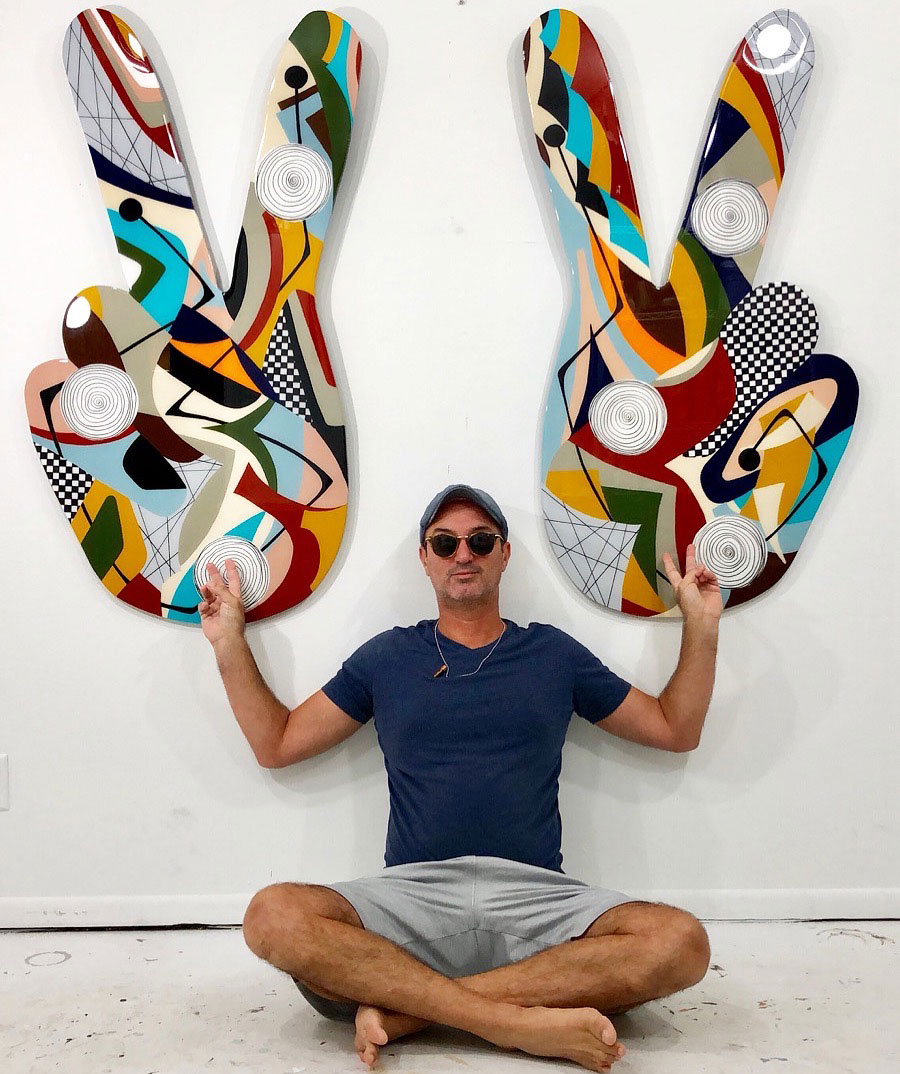 Amauri Torezan's abstractions