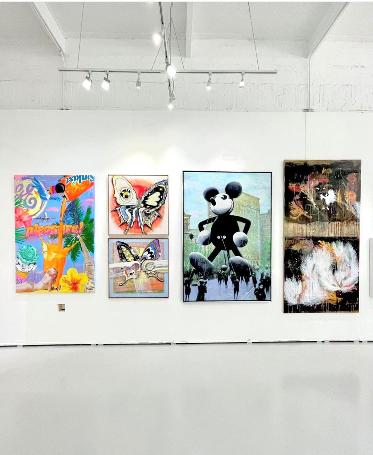 Installation at Manolis Projects