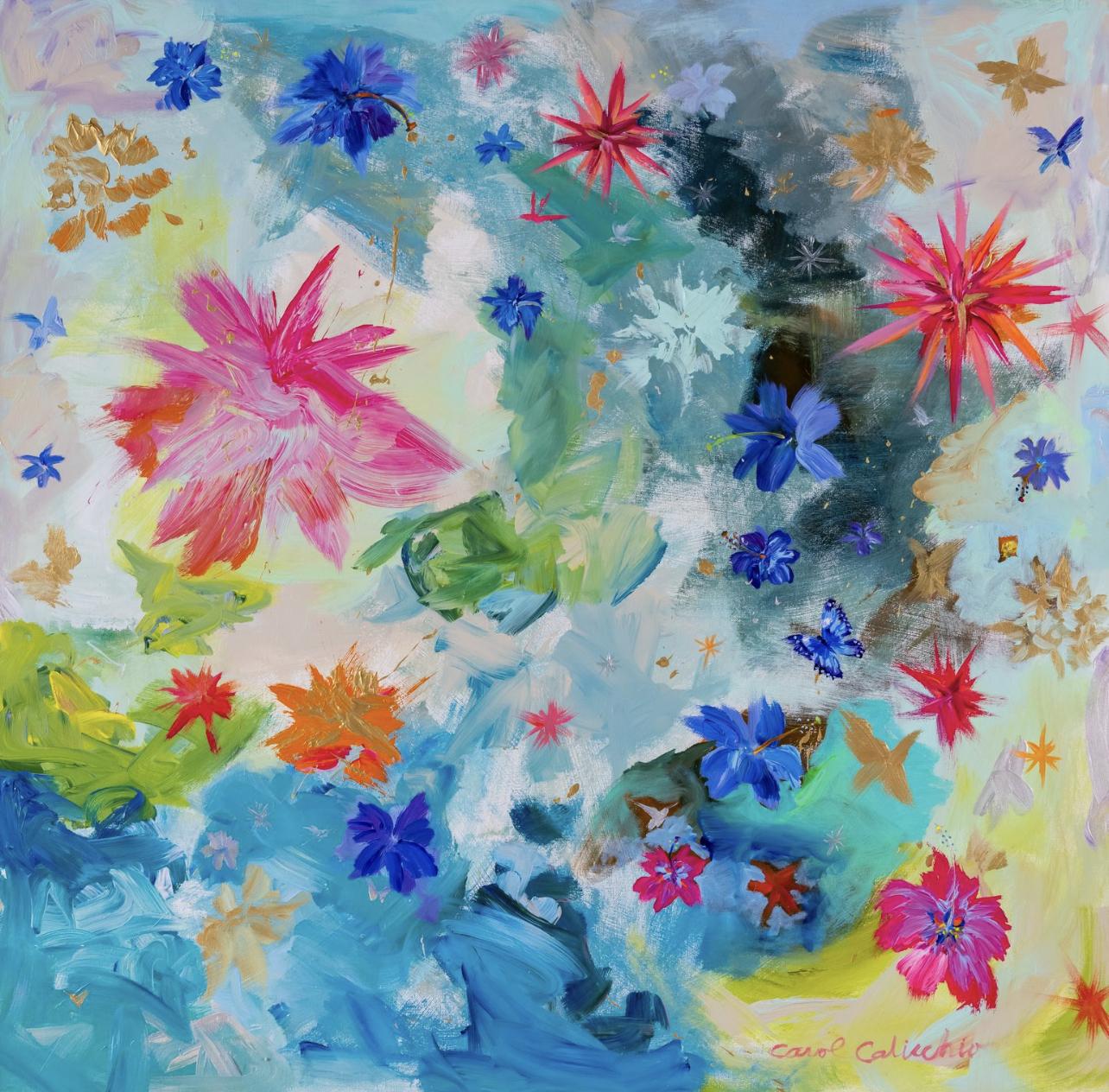 Carol Calicchio's magical flower garden at The Ben
