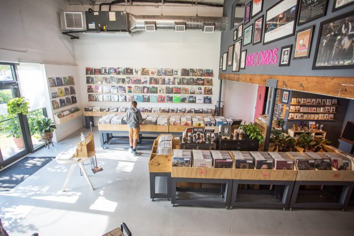 Rust and Wax brings back the community record store